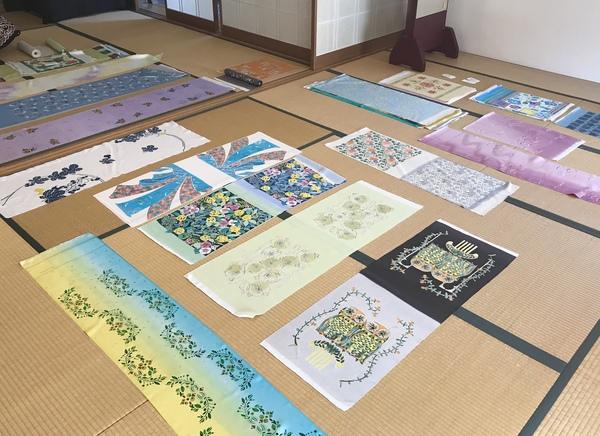 染色教室2019.10月生作品展