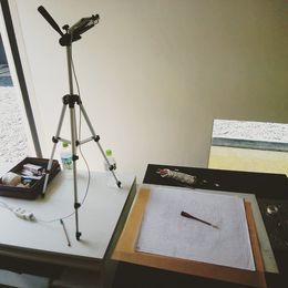 通信講座~江戸紅型コース開講!!!!完全自宅!染めの教室を受講できます。