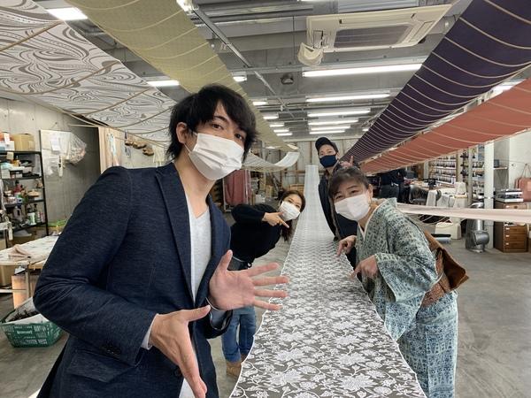 NHKあさイチのお出かけLIVEに中継されました。