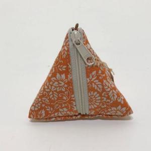 三角小銭入れ 更紗三角5
