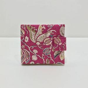 カード入れ更紗(ピンク)