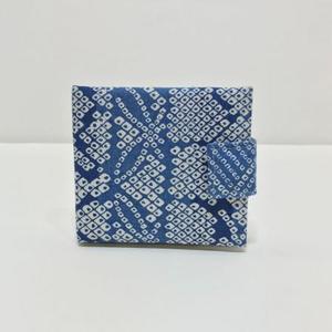 カード入れ小紋(青)