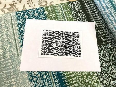 型彫カードキット 螺旋