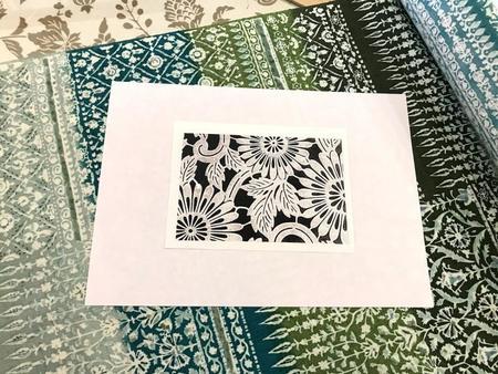 型彫カードキット 伊勢菊