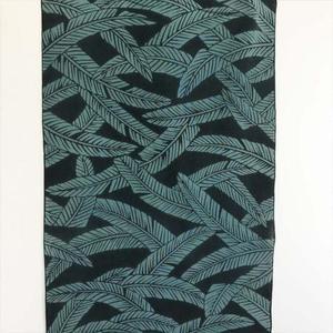 二葉苑浴衣 浮世絵芭蕉(緑×深緑)