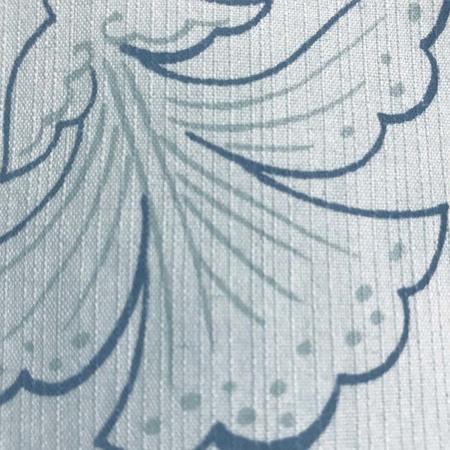 二葉苑浴衣 浮世絵蔓柄(灰緑)